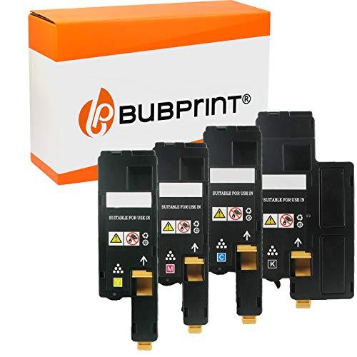 Bubprint 4 Toner kompatibel für Epson C13S050614 C13S050613 C13S050612 C13S050611 für Aculaser C1700 C1750N C1750W CX17 CX17NF CX17WF BK/C/M/Y