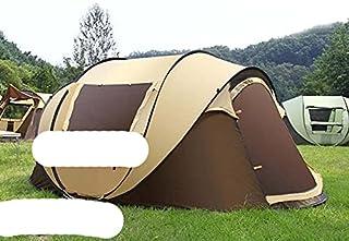 Ultralarge 4–5 personer pop up helautomatisk vattentät självkörande tur tält camping strand fest tält Barraca