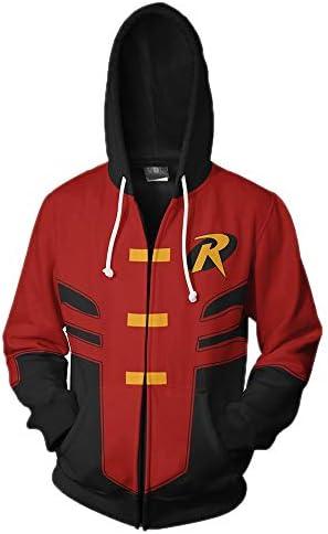 Robin hoodie dc