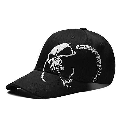Unisex Mode Freizeit Sport Cap, Stilvolle Außensonnenblende Hut, Breathable Run Baseballmütze, Art Klassische Outdoor-Sport-Hüte Für Männer Frauen,Schwarz