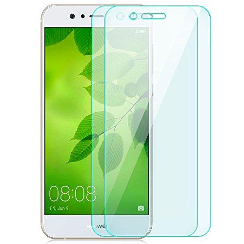 zanasta 2X Bildschirmschutz Folie kompatibel mit Huawei Huawei Nova 2 Plus Schutzglas Schutzfolie Glasfolie Bildschirmschutzfolie   HD Klar Transparent