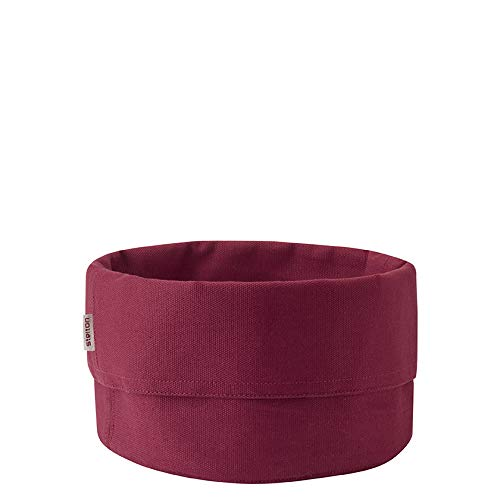 Stelton Bread Bag, Large - warm Maroon