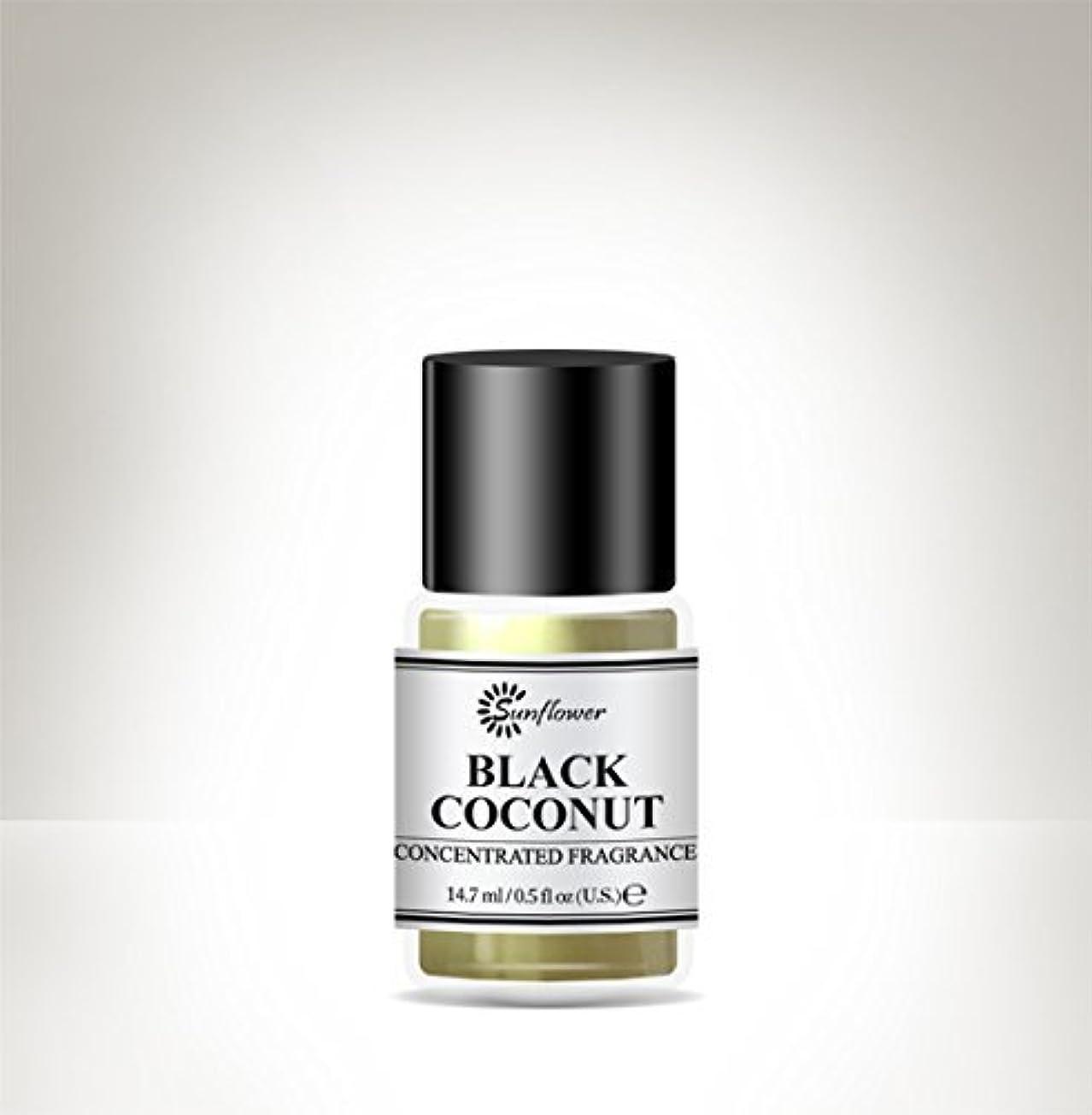 そばにジャグリング冒険家ブラックトップボディオイルブラックココナッツ15 ml