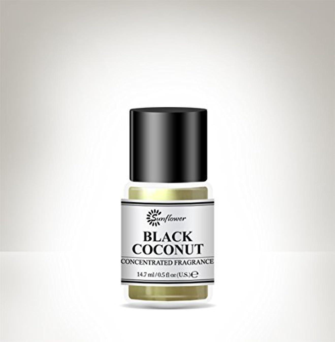 神経衰弱信号レザーブラックトップボディオイルブラックココナッツ15 ml