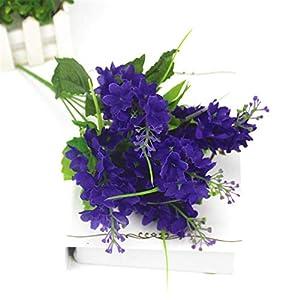 Romantic Provence Decoration Artificial Lavender Flower Fake Silk Flowers Wedding Party Garden Decor Plastic Branch Lavenders