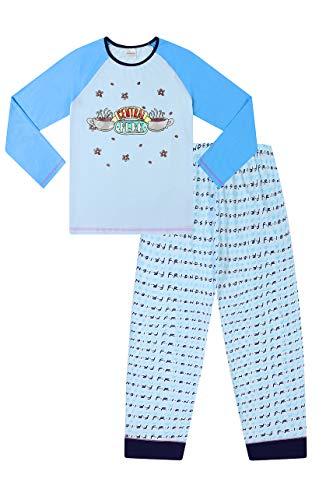 FRIENDS Central Perk - Pijama para niñas, color azul