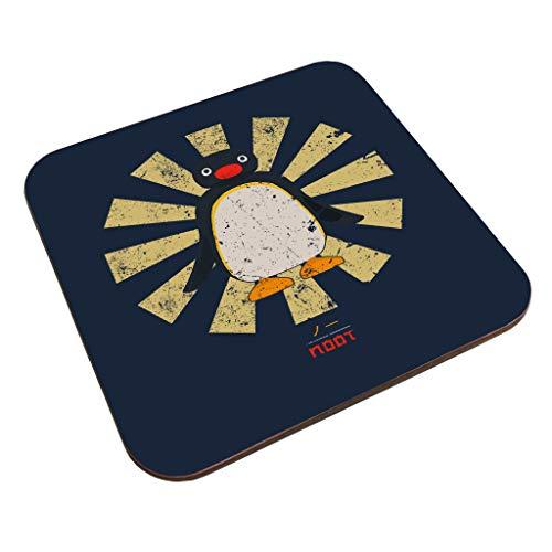 Pingu Noot Retro Japanese Coaster