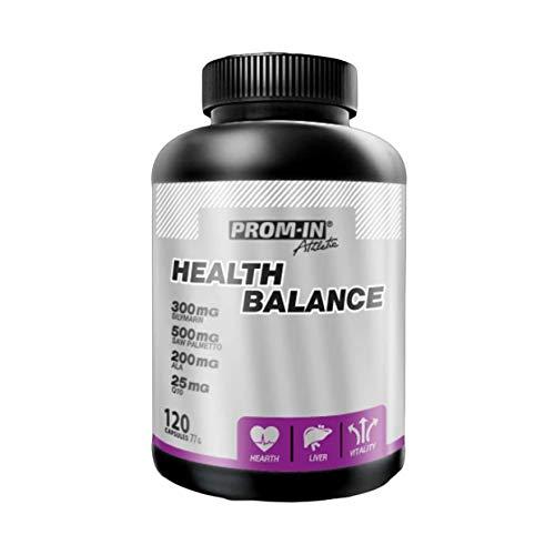 Health Balance Athletic 120 capsules de PROM-IN para la revitalización general del cuerpo es especialmente adecuado para personas expuestas a mayor estrés físico y mental