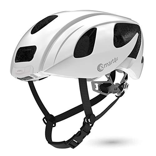 Smart4u Smart Helmet with LED taillight & Turn Indicators,SOS Alert,Bluetooth Phone One Button...