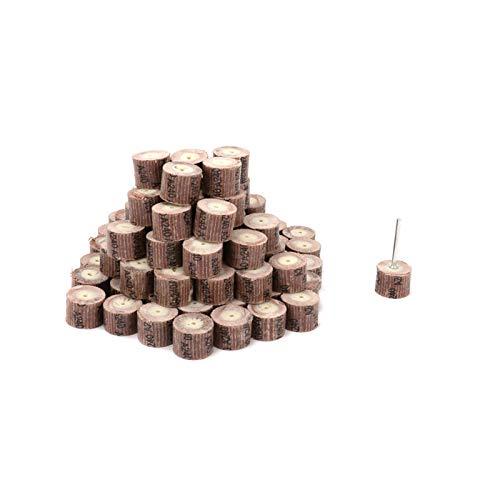 50Pcs 20mm Sandpaper Flap Wheel Sanding Polishing Grinding Disc Woodworking Rotary Tool 80 120 180 240 320 400 500 600# Gaodpz (Grit : 600)