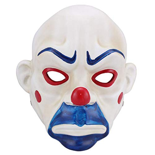 Joker masker van Batman de donkere ridder bank overval scene volwassen high-grade hars joker bank Robber masker clown Batman donker ridder halloween prop