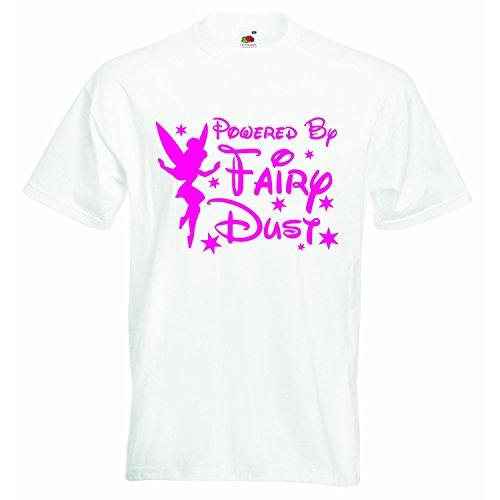 Impulsado por el polvo de hadas, camiseta personalizada para niños y niñas, unisex, ropa con...