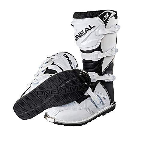 O'Neal Rider Boot MX Stiefel Weiß Moto Cross Enduro Motorrad, 0329-2, Größe 42 - 5