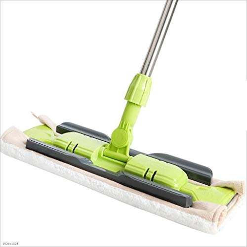 Purchase Magic Mop,Robust Stainless Handle Professional Flat Floor Mops Ideal for Use On Home or Kit...