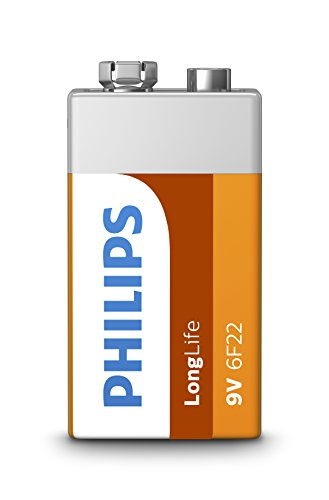 PHILIPS 6F22L1B/10 - Batterien Long Life - 1 Stück 6F22-9V