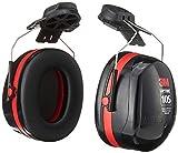 3M H10P3E Peltor Optime 105 Helmet Attachable Earmuff, Ear Protectors,...