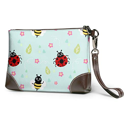 Maple Memories Easter Animal Eggs Portable Canvas Coin Purse Change Purse Pouch Mini Wallet Gifts For Women Girls