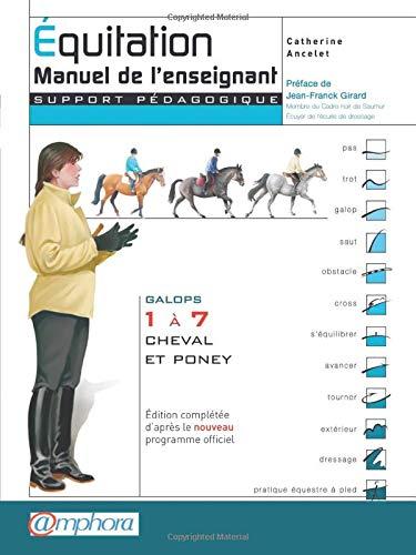 Equitation - Manuel de l'enseignant