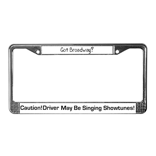 They'll let all the other drivers know whats on the radio with this gift ideas for a broadway/musical theatre lover.