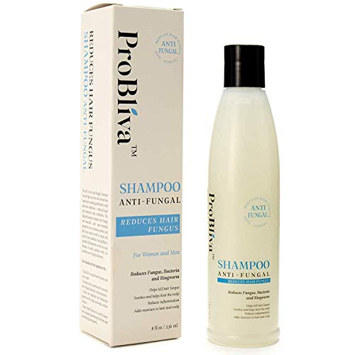 ProBliva Fungus Shampoo for Hair & Scalp - for Men and Women - Help to Reduce Ringworm, Itchy Scalp...