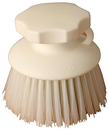アズワン サニーフーズHACCPブラシ ハンドブラシ 丸型 白 /2-2307-11