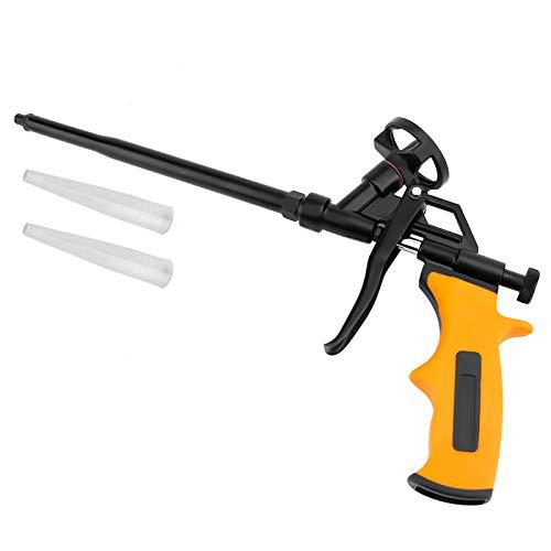 Foaming Gun, MANGZ Hand Foam Caulking Gun, PU Expanding Dispensing Foam Spray Gun Application Applicator for Caulking, Filling, Sealing