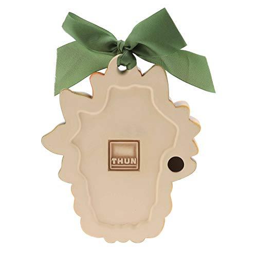 THUN ® - Formella Media mazzolino di Fiori - Ceramica - h 14 cm - Linea I Classici