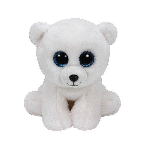 TY 42108 - Arctic - Polarbär mit Glitzeraugen, Plüschtier, 15 cm