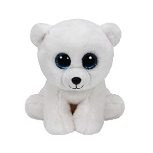 TY - Classics Arctic, oso polar de peluche, 15 cm, color blanco (42108TY) , color/modelo surtido