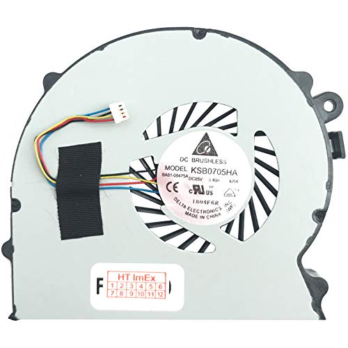 Lüfter Kühler Fan Cooler kompatibel für Sony VaiO VPCSA3S9E, VPCSB3L9E, VPCSB4L1E/S, VaiO VPCSA3C5E, VPCSB2C5E, VPCSB1S1E/S, VaiO VPCSA3S9R, VPCSB3M9E, VPCSB4L1E/W, VPCSD400