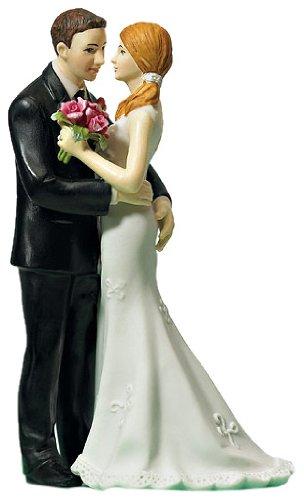 """Tortenfigur """"Schau mir in die Augen"""" - romantische Tortendekoration für Ihre Hochzeit"""