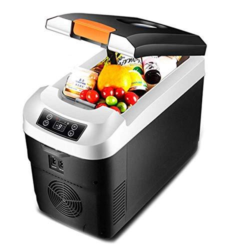Refrigerador multifunción para automóvil, mini refrigerador eléctrico para congeladores de medicamentos, refrigerador pequeño y calentador de 12V DC 24V AC 220V para picnic de viaje en casa (tamaño: 1