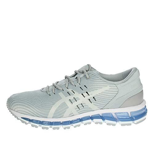 Asics Gel-Quantum 360 4, Zapatillas de Running Mujer, Gris (Mid Grey/Glacier Grey 022), 38 EU