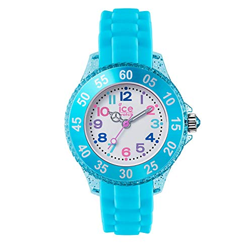 Ice-Watch - ICE princess Turquoise - Türkise Mädchenuhr mit Silikonarmband - 016415 (Extra small)