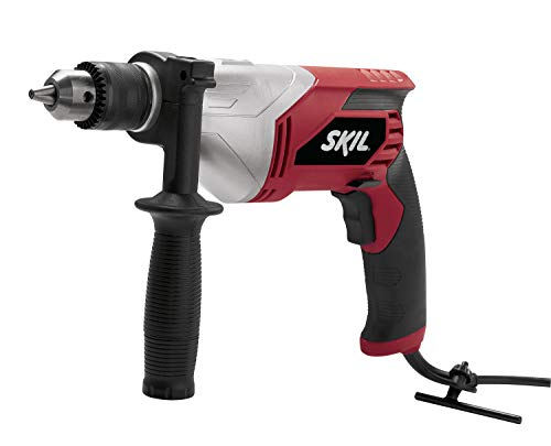 SKIL 6335-02 7.0 Amp 1/2 Inch Corded Drill , Red