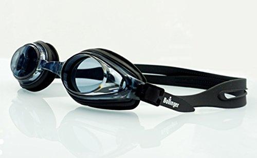 Bollinger 0916F2Pool-Brille, Unisex Erwachsene, schwarz, Einheitsgröße