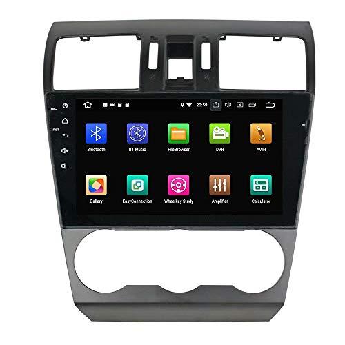 ROADYAKO Voiture PC pour Subaru Forester 2013 2014 2015 2016 Android 8.0 Autoradio Stéréo avec GPS Navigation 3G Lien Miroir RDS FM AM Bluetooth Multimédia Audio Vidéo