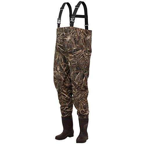 Frogg Toggs Rana II PVC Bootfoot Camo Chest Wader, Cleated Outsole