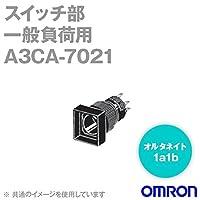 オムロン(OMRON) A3CA-7021 押ボタンスイッチオプション(スイッチ部)(一般負荷用・オルタネイト) A3Cシリーズ (正方形) NN