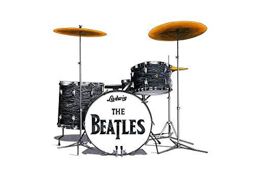 George Morgan Illustration Kit de batería Ludwig de Ringo Starr Desde el...