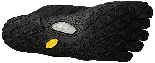 Vibram FiveFingers V-trail 2.0 Shoes, Black Black Yellow, 10 10.5 UK