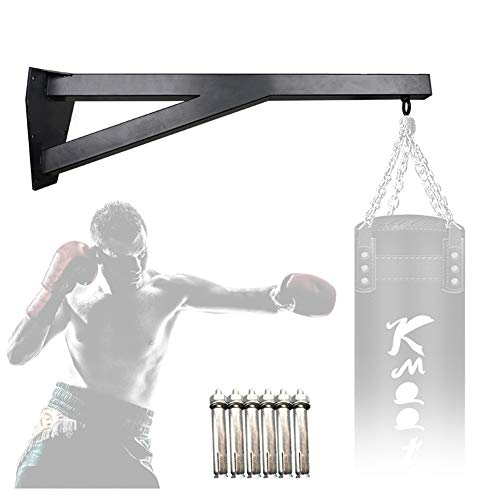 TBDLG Colgador De Pared para Saco De Boxeo, Colgadores Sacos De Boxeo Soporte De Pared para Saco De Boxeo De Acero Resistente para Gancho MMA Colgador Wall Bracket