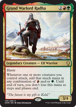 Grand Warlord Radha - Dominaria
