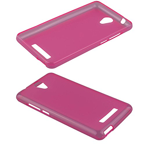 caseroxx TPU-Hülle für Archos 50e Neon, Handy Hülle Tasche (TPU-Hülle in pink)