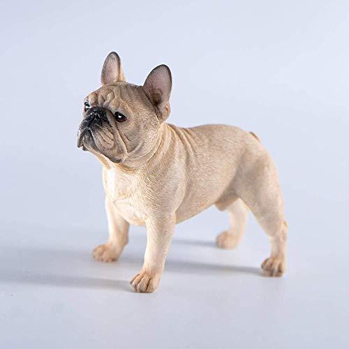 Sculptuur Standbeeld Animal Sculpture Bulldog Modelauto Decoratie Simulatie Puppy Ladder Proberen Om Een Schattig Diermodel-B1 Te Maken