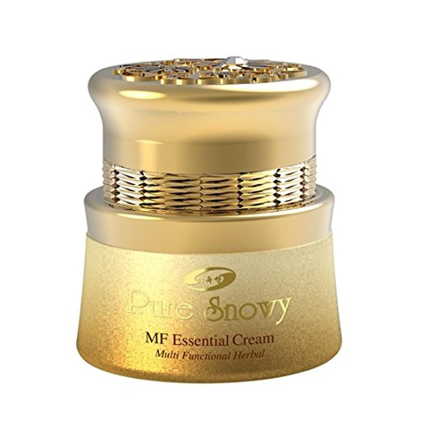 成功する確かめるかける韓国コスメ[ベクオクセン]ピュアスノイMFエッセンシャルクリーム55ml/栄養供給と美白クリーム/ Pure Snowy MF Essential Cream [並行輸入品]