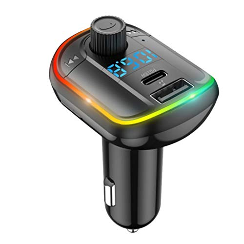 Fauge T829 Coche Reproductor de MP3 Coche Manos Libres 18W Carga RáPida PD Transmisor FM Tipo-C Carga RáPida