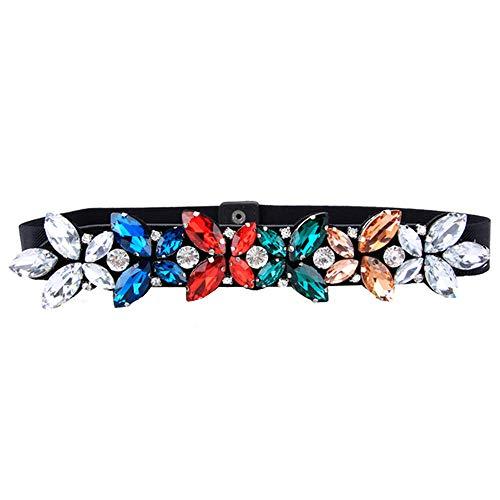 Unisex riemen dunne tailleband jurk elastische taille zegel met rok riem wilde grootte optioneel 73-83cm kleur
