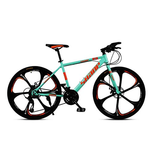 Mountain Bike,Hard-Tail Mountain Bicycle,Dual Disc Brake and Front Suspension Fork,26inch Mag Wheels