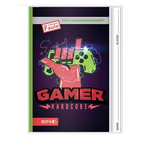 Hausaufgabenheft Teens für clevere Faule Gamer A5